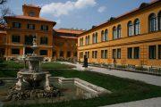 Der Garten des Lenbachhaus in München