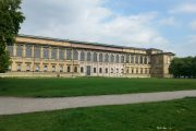 The old pinakothek in Munich Art-Areal