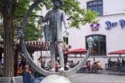 Karl Valentin Brunnen am Viktualienmarkt, München