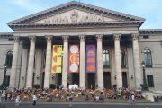 The Munich Opera in sommer