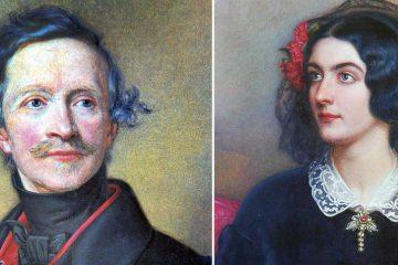 König Ludwig I von Bayern und Lola Montez