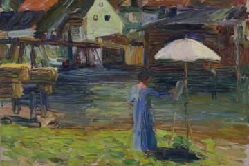Lenbachhaus - Unter Freiem Himmel - Unterwegs mit Wassily Kandinsky und Gabriele Münter