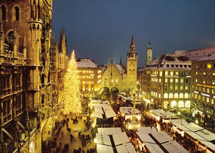 Le marché de Noël de Munich
